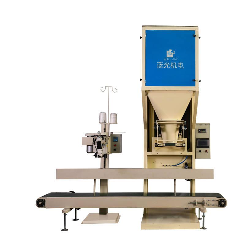 Yarı otomatik 10-50kg çanta granül karbon siyah pelet tatrtılı dolum makinesi