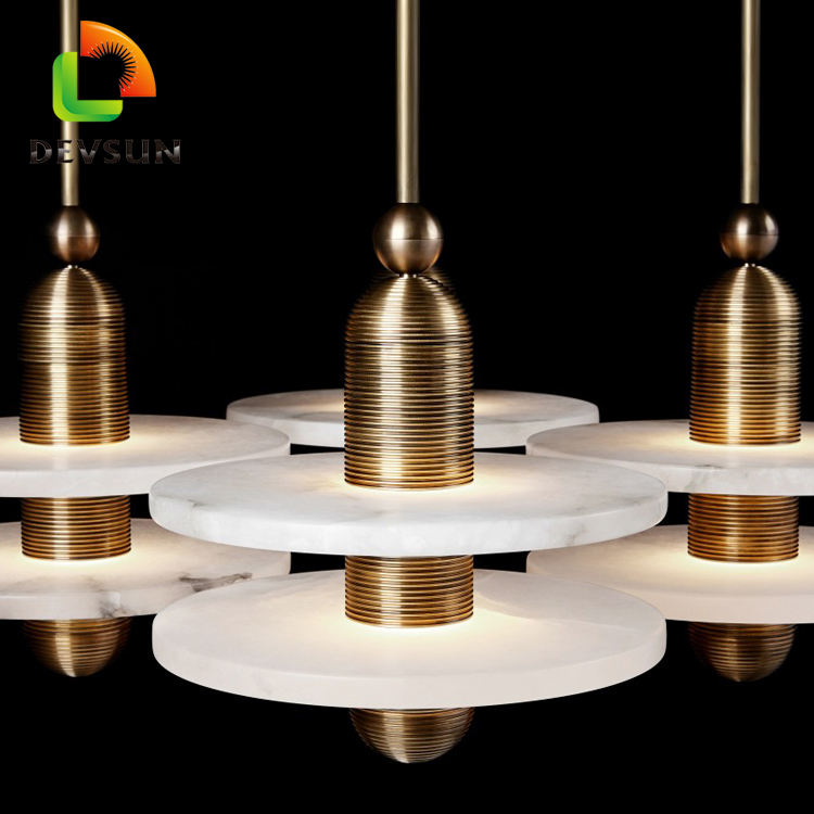 contempory new art design decor design crystal huge pendant light
