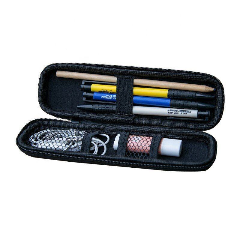 Black EVA Hard Shell Stylus Pen Pencil Case Holder Protective Carrying Box Bag Storage Container for Fountain Pen Ballpoint Pen