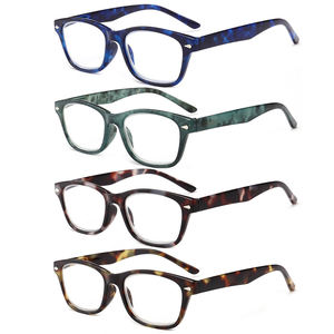 Computer Blocking Anti Blue light UV filter Fashion Plastic Custom Men Women Reading Glasses