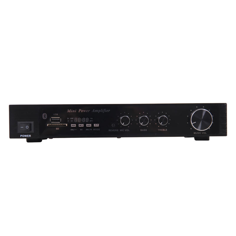 EPXCM /X-108 Best Seller 100W x 2 2 Channel Bluetooth Stereo Audio Mini Power Amplifier X-108