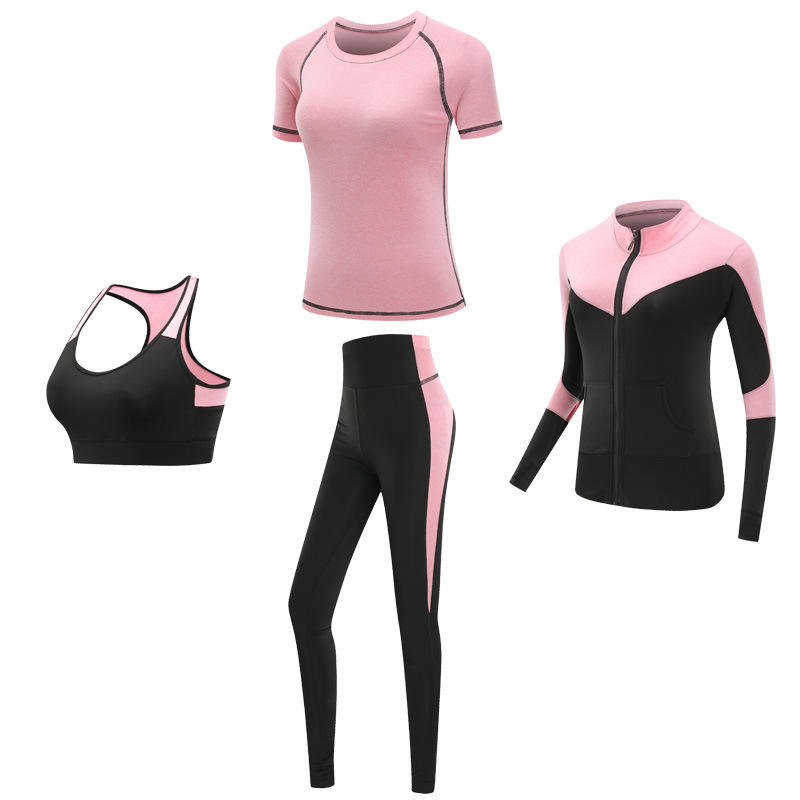 Yoga set sexy fitness health clothes suit women yoga wear bra gym leggings outfit