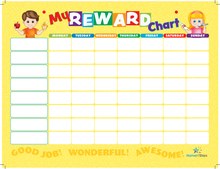 "16""x12"" Weekly Planner PET Film Magnetic Calendar Board Fridge Magnet Reward Chart"