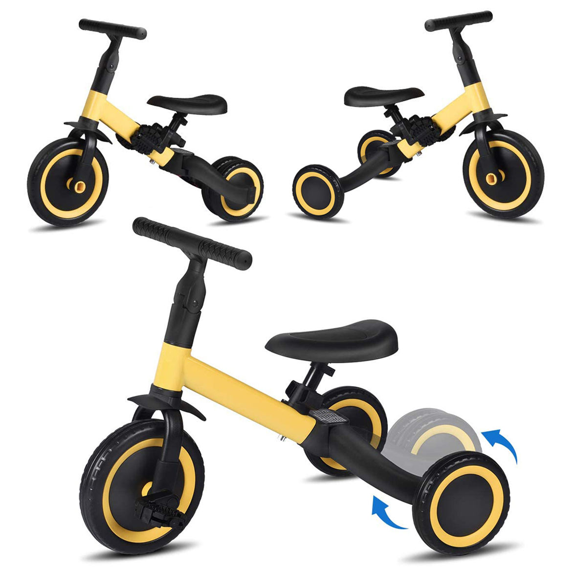 1-3-5 years multifunction three-in-one kids balance bike children bicycle 3 wheel 3 in 1 kid tricycle trike