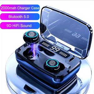 Mini Stereo Bt 5.0 Single New Waterproof TWS Earbuds wireless Blue tooth Earphone