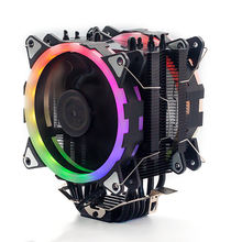 High 6 Heat Pipe 4pin Intel And Amd 120mm Pc Case Pwm Cooling Fan
