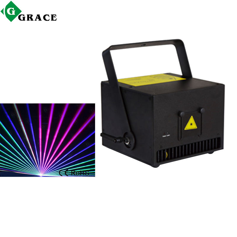 Low Price 5W Laser Disco Lights For Sale DMX512 RGB Animation Laser Light Show