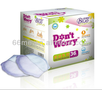 Super Absorption Elastic Leak Guards On Double Sides Breast Pads Super Soft And Dry Breathable Breast Nursing Pad