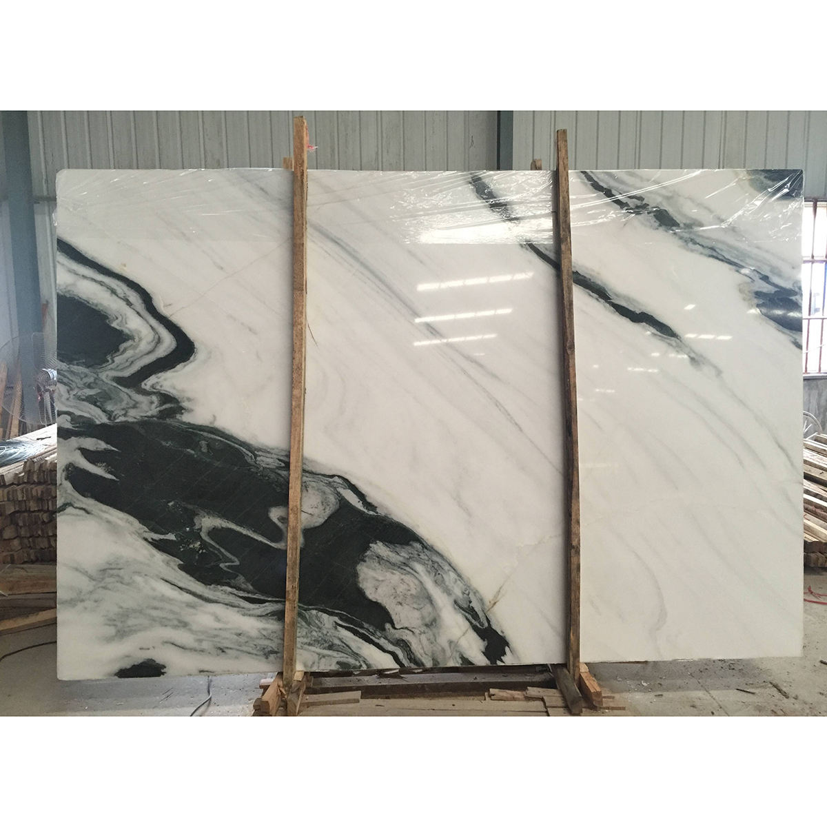 China panda white marble stone price