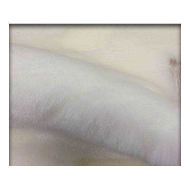 White Acrylic Faux Fur Made In China