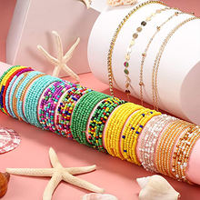 Pujiang half crystal ab waist beads rondelle crystal glass beads for bracelets