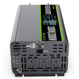 Joeyoung 12v dc to 110 220v ac 50hz 1000W Pure Sine Wave Power Inverter