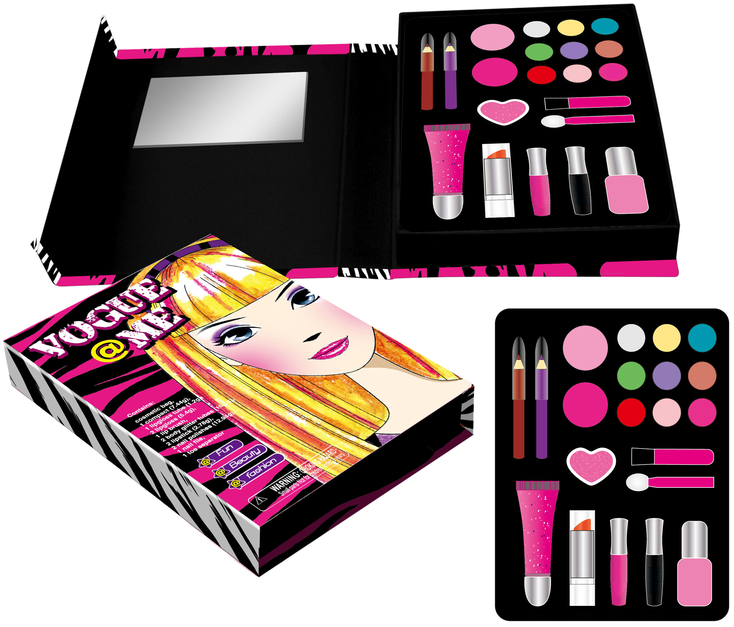 Parties face paint child friendly cosmetics cheap kids makeup palette gift sets for girls