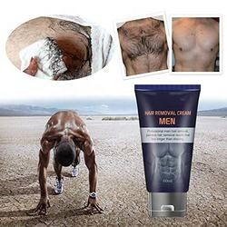 Private Label Hair Removal Cream for Men, Permanent  Painles