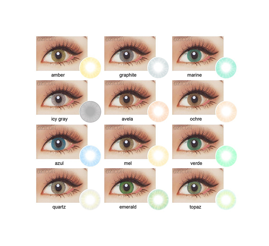 HOT BeautyTone HD China very cheap cosmetics yearly colored contacts super natural eye wholesale color soft contact lens