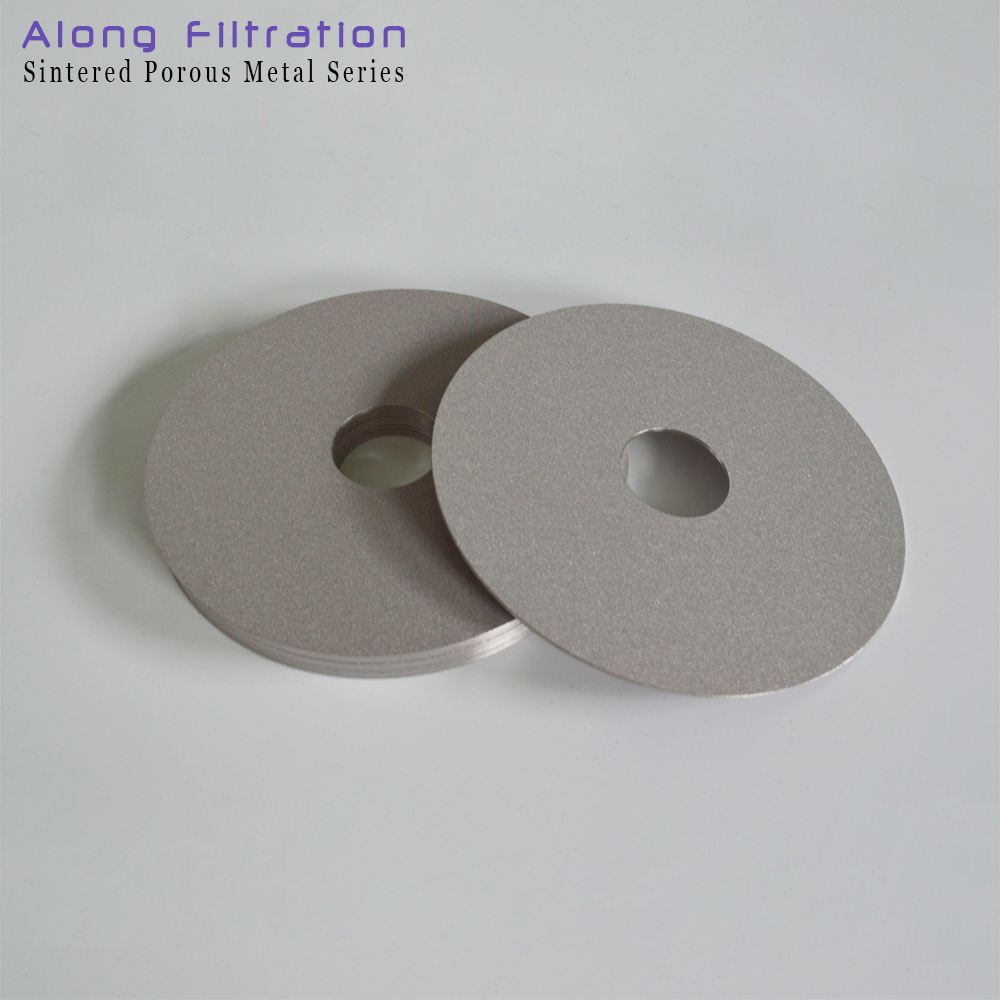 0.5 5 20 60 micron sintered porous inconel 600 disc filter