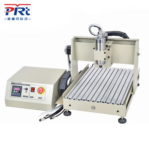 PURUITEKEJI 3040 CNC Engraving Machine 3 Axis Cutting Milling Engraving for Copper Stamp and Metal