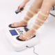 Electric TENS Unit EMS Muscle Stimulator Blood Circulation Machine Foot Massager