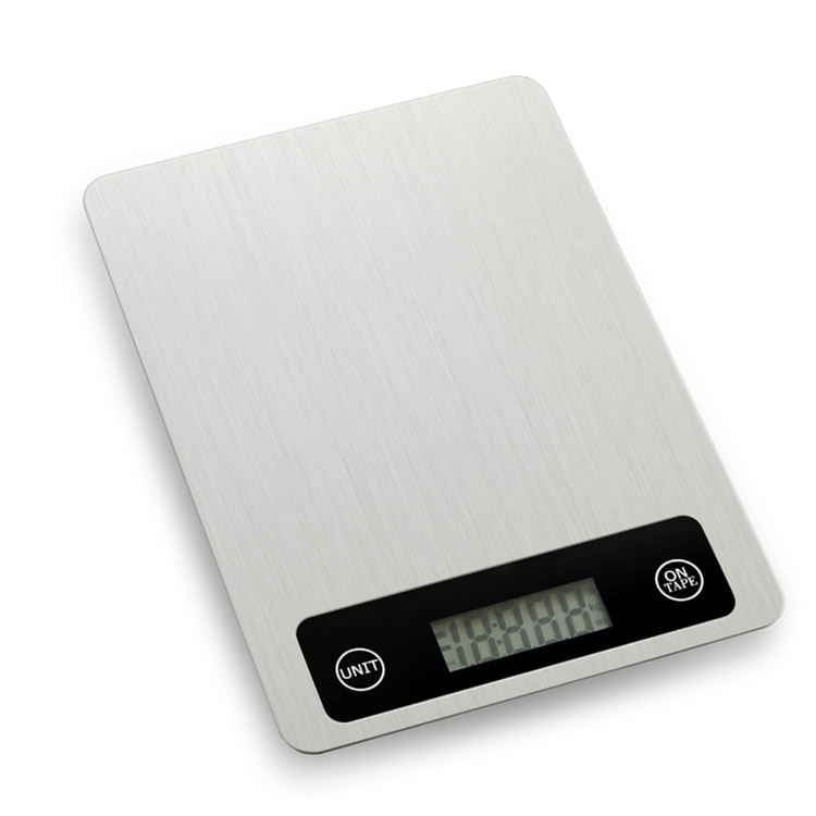 5kg stainless steel electronic digital kitchen food scale LCD display food weighing scale