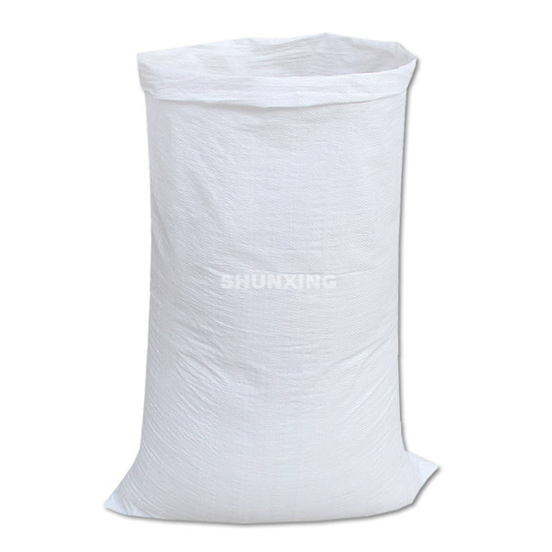 Foreign Standard Size Laminated PP Polypropylene Woven Heat Seal 25kg 50kg Rice Packing Bag