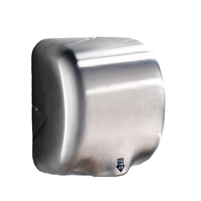 SUS304 Stainless Steel Case Mini Automatic Jet Air Hand Dryer