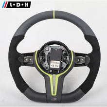 Matte Carbon Fiber Steering Wheel For BMW M3 M4 M5
