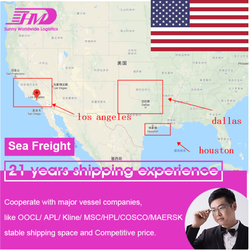 Shenzhen freight forwarding container sea shipping service China to USA