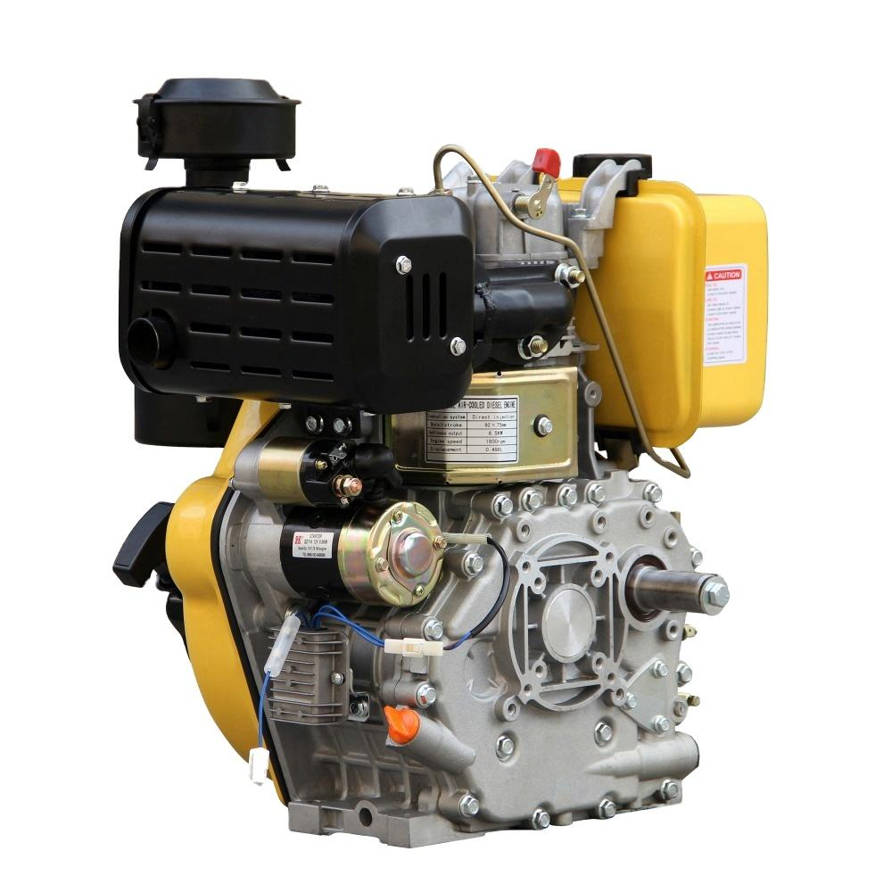 1500RPM small diesel engine for mini tiller 192FS