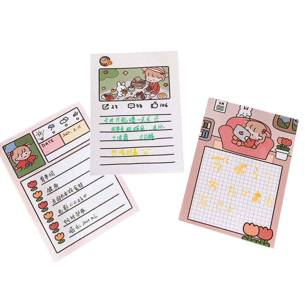 Top Quality Hot Selling PET Index Sticky Notes High Block Flags Grid Notepad