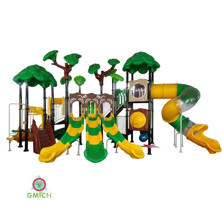 outdoor playground tube slide entertainment play toys children playground JMQ-G001A