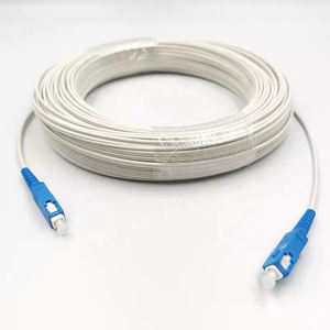 150 meters SC UPC Single Mode G657A FTTH Drop Cable Indoor Outdoor fiber optic patch cord duplex
