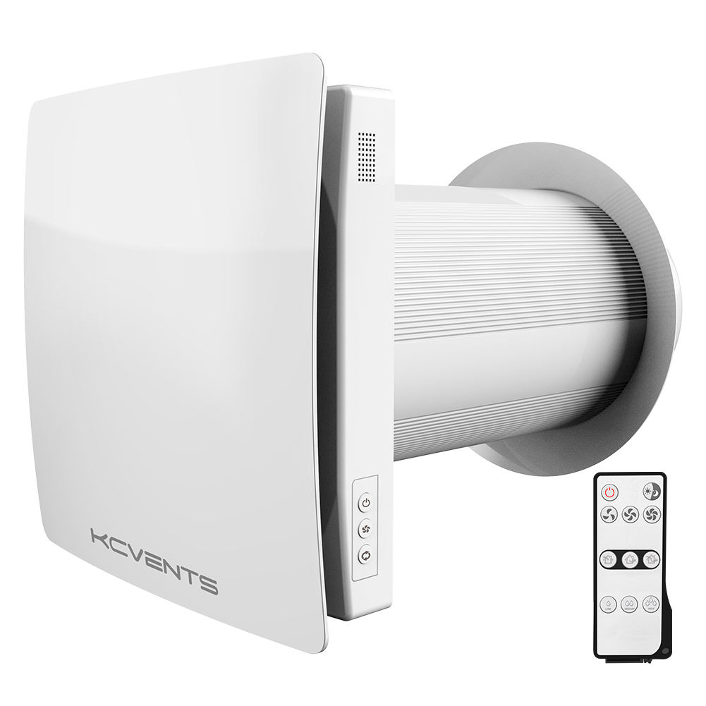 KCVENTS Wall Mounted Air Recuperator System Heat Recovery Unit for Apartment