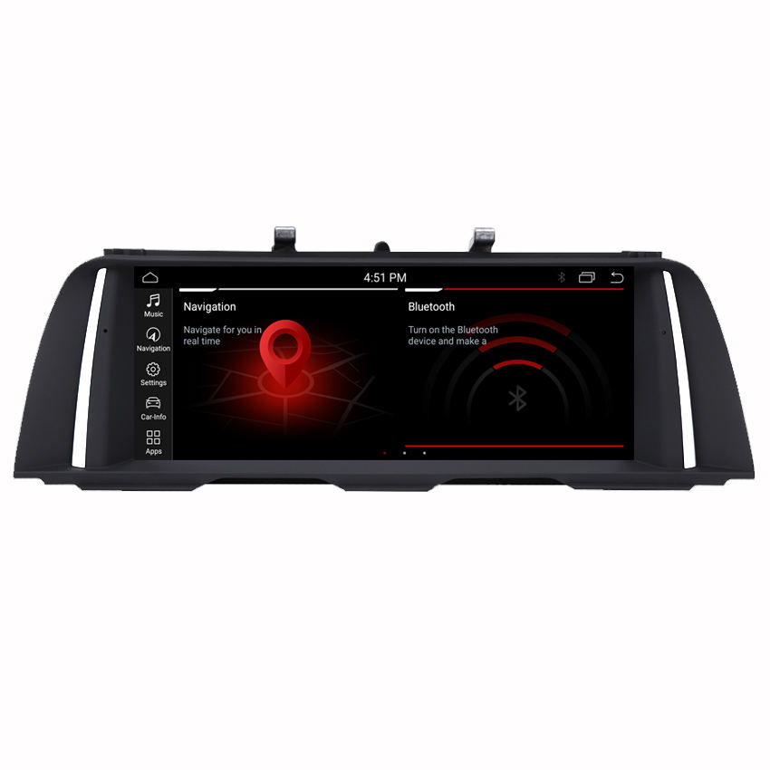 Kanor anti-glare car dvd gps for bmw f10 f11 5 series gps navigation android 10 4+64g 8core cpu