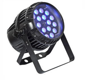 Waterproof Zoom Led Par Light 18x18W RGBWA+UV 6in1 Full Colors Mixing DJ Stage Light LED Par Can DMX Control Party Stage light