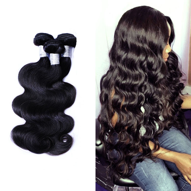 ขายส่งผม Bundle,100% Natural ขายส่ง 9A Original Unproeded Raw 100% Virgin Brazilian Human Hair