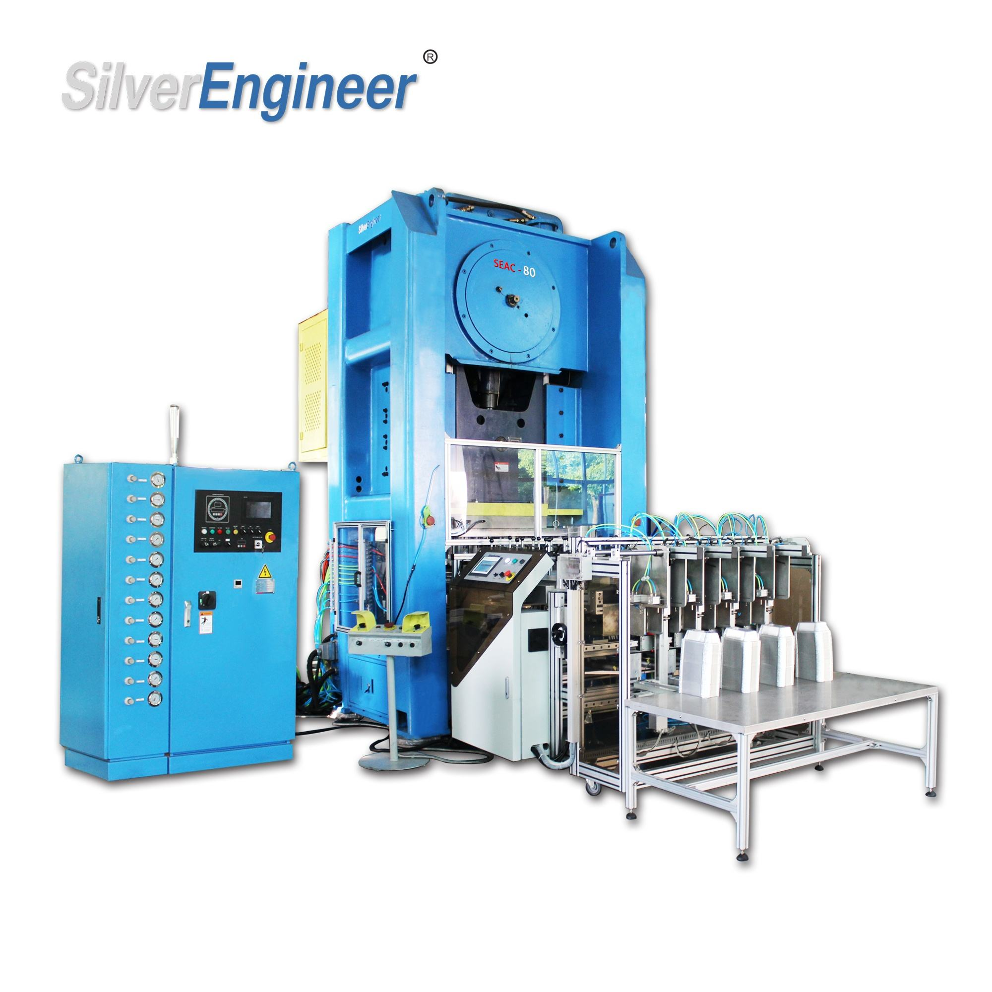 Grill Pan Aluminum Foil Container Making Machine of Production Line Made in China