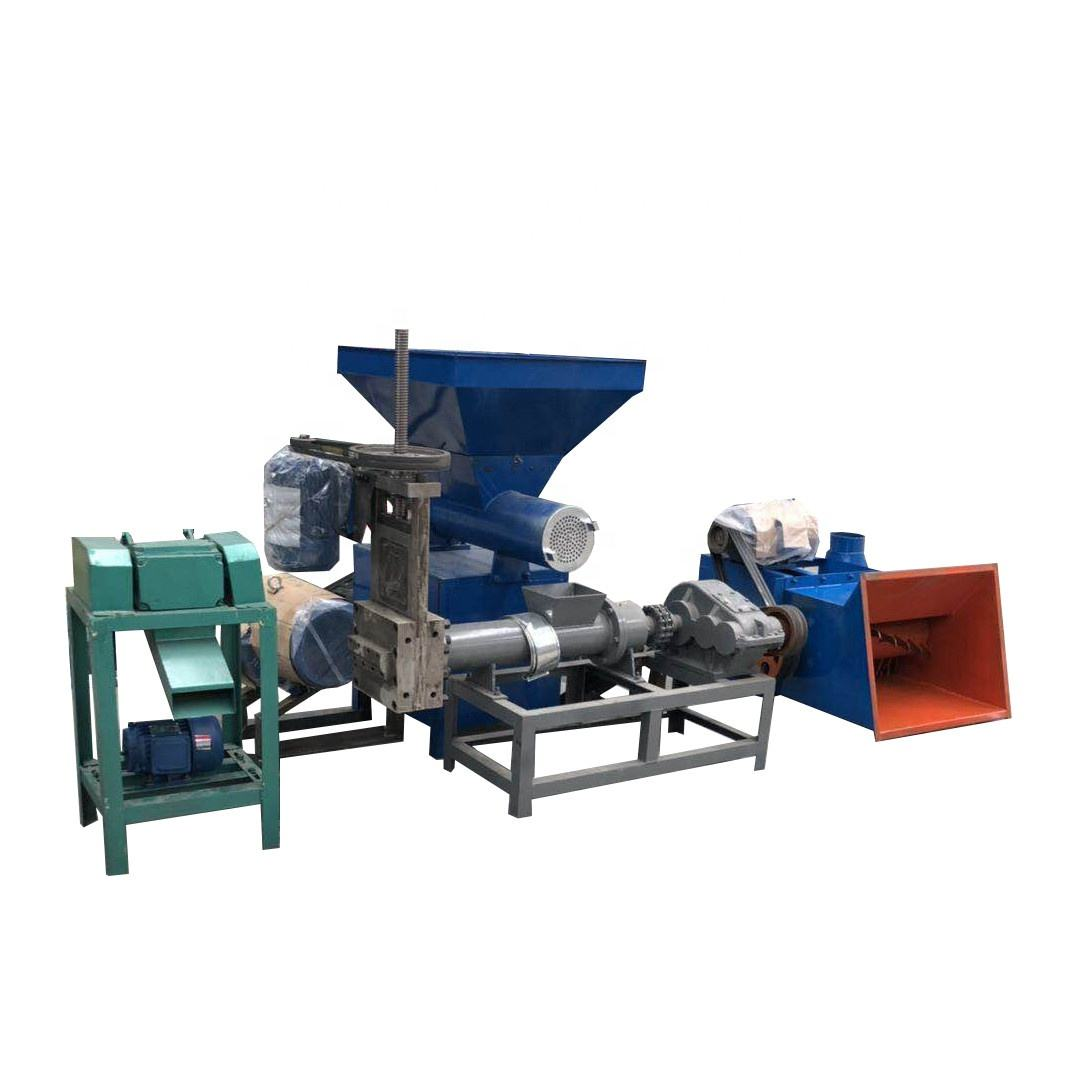 Foam pellets making machine Waste polystyrene foam granules making machine waste foam recycling machine