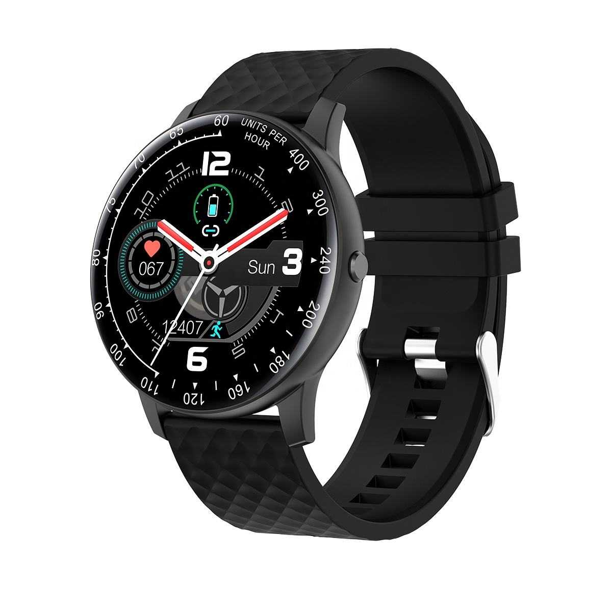 H30 Custom Dial Health Monitoring Call and Message Reminder Music play Smart Sports Watch
