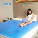 Removable Cover [ Cooling Gel Mattress Topper ] Factory Folding Summer Sleeping Pad Cooling Gel Silicone Mattress Topper