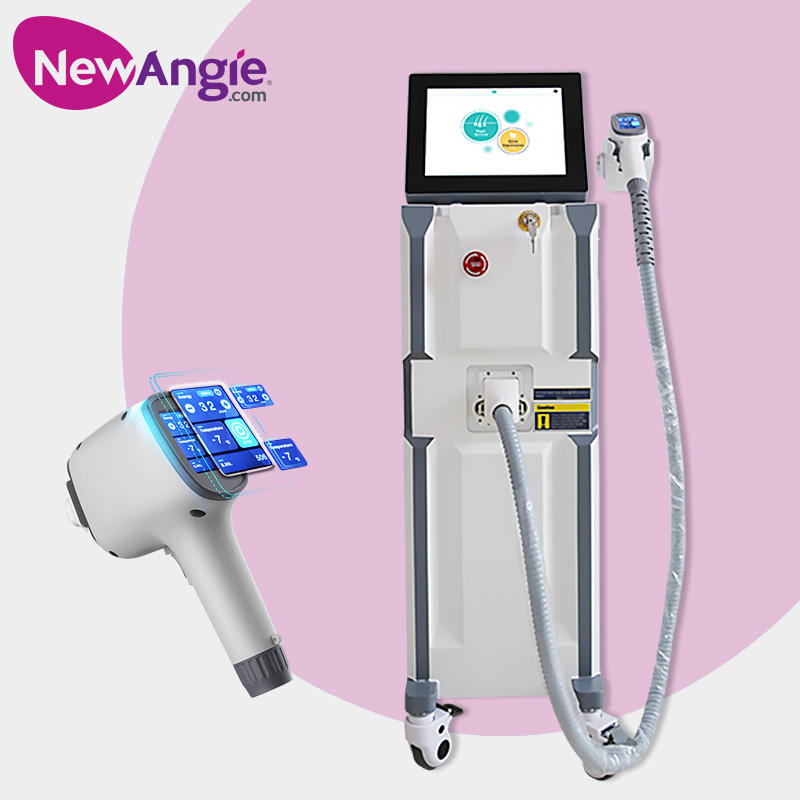 CE approval 3 wavelength 808 755 1064 diode laser hair removal machine