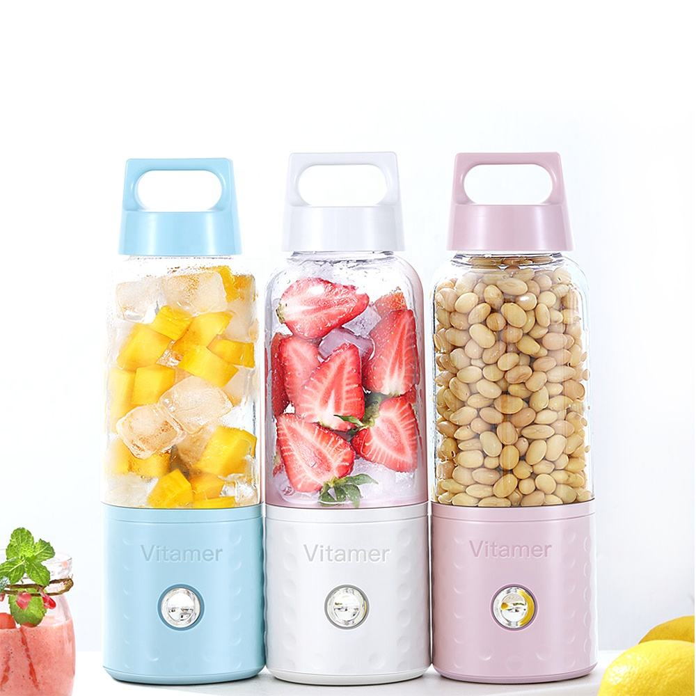 New Arrival Vitamer 500ML Portable Blender Juicer Cup Bottle USB Electric Fruit Citrus Lemon Juicer
