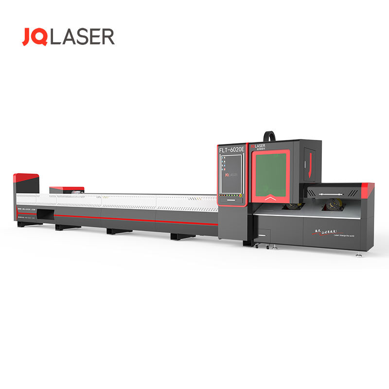 For machinery construction metal round square pipe tube cnc laser cutter fiber laser cutting machine