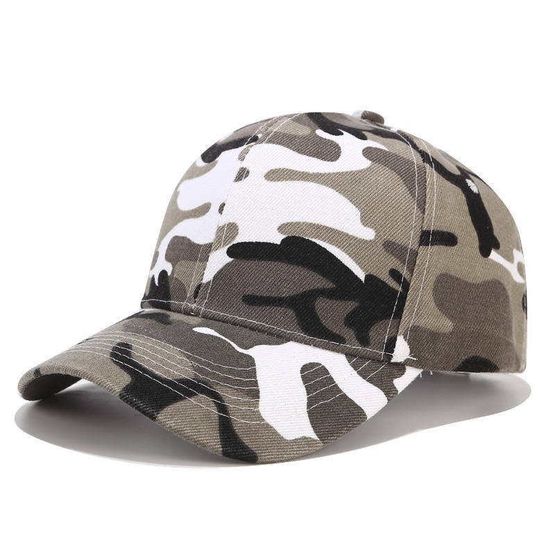 Custom jungle camouflage hat men and women visor cap special forces army fan military training baseball cap