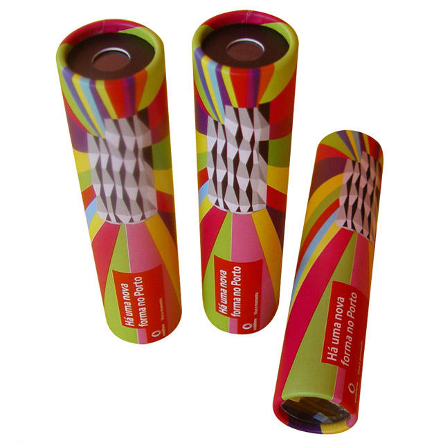 ECO Friendly Customer Design Recycled Paper Kaleidoscope For Promotion