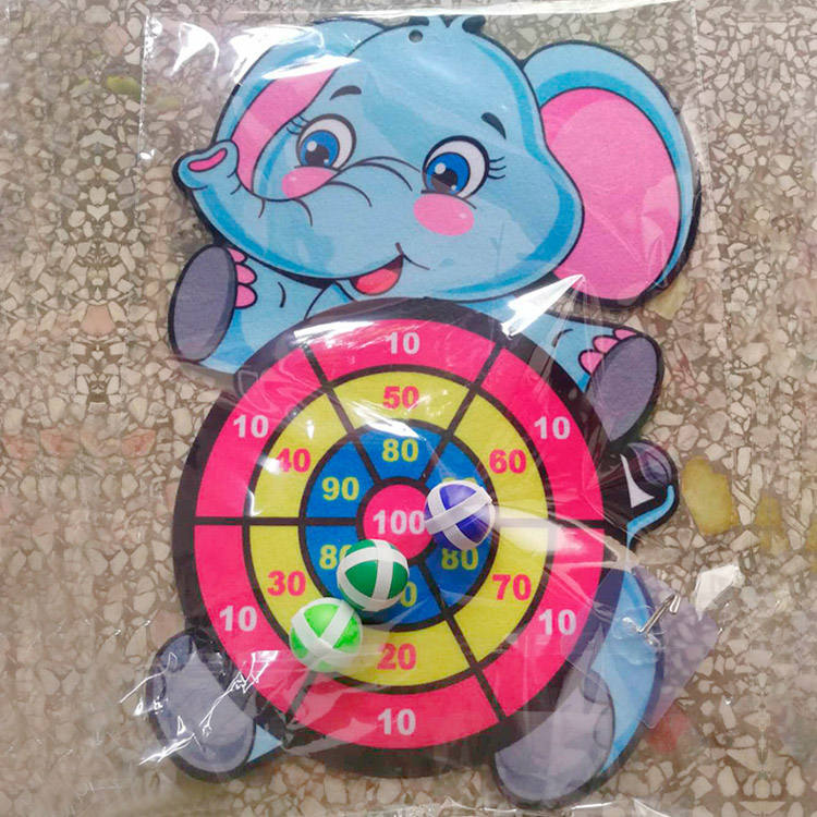 2020 New Arrival Kids Dart Board Game Animal Sticky Darts For Kids Indoor Outdoor Christmas Birthday Party
