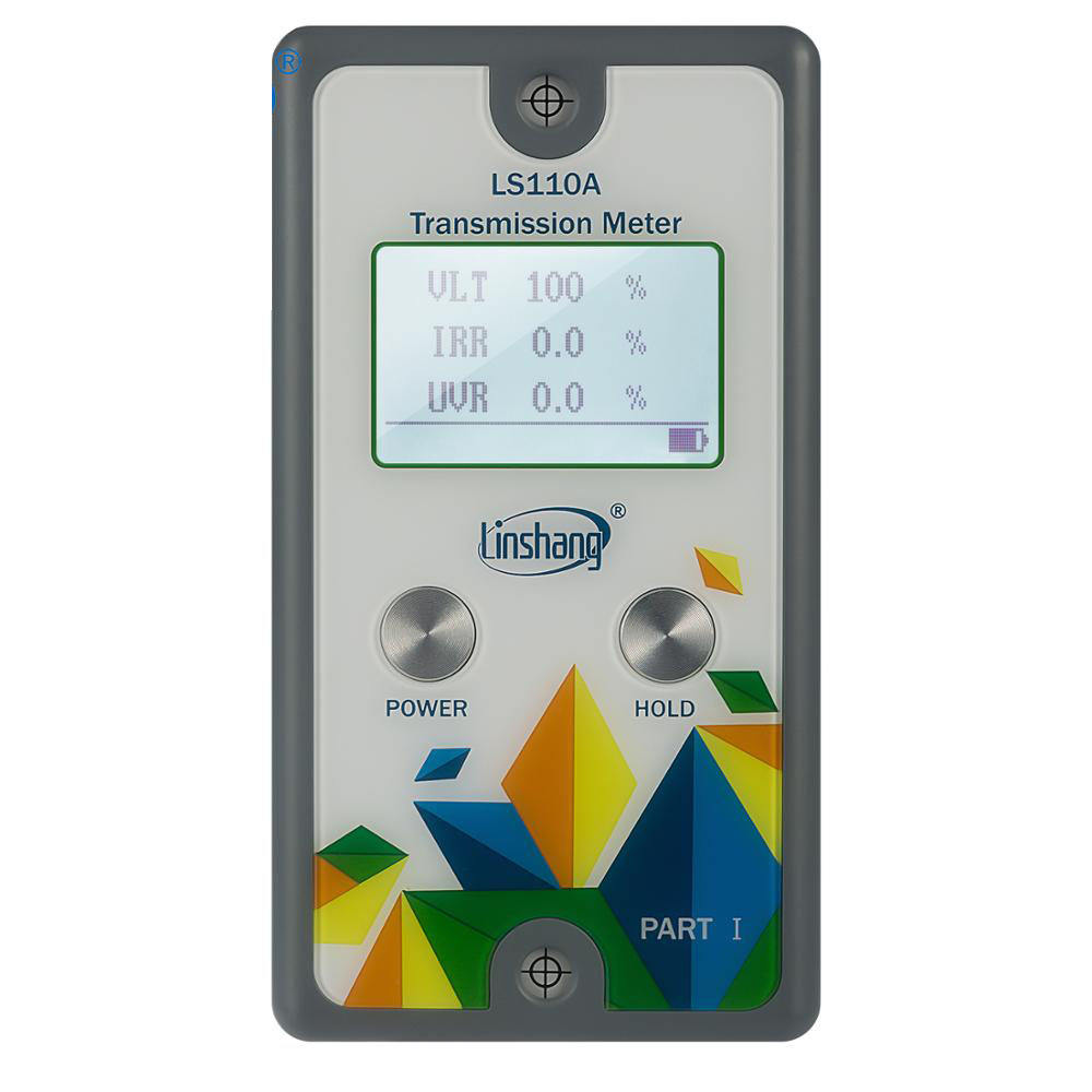 Linshang LS110A Split Transmission Meter with IR UV rejection 550nm Visible light transmittance meter