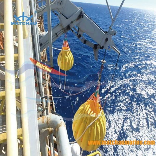 Veiligheid lifting tas reddingsboot load test water bag fabrikant