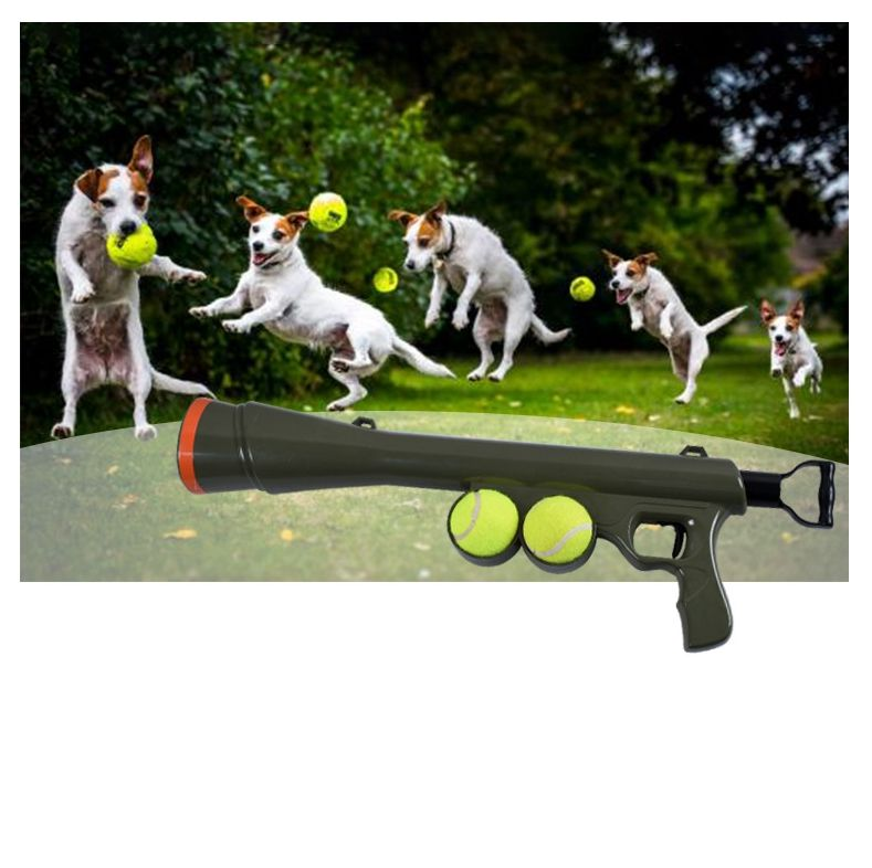 China good quality dog ball launcher tennis ball launching gun for pet