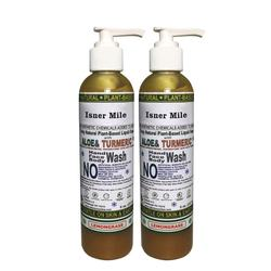 Missy OEM ODM Private Label Antibacterial Moisturizing Turmeric & Aloe Vera Body Hand Face Wash