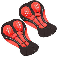 Cycling Shorts Gel Pad Coolmax 9D 12D 19D 20D Cycling Cushion MTB Bike Base Seat Saddle Pad Shockproof Bicycle Underwear Pads